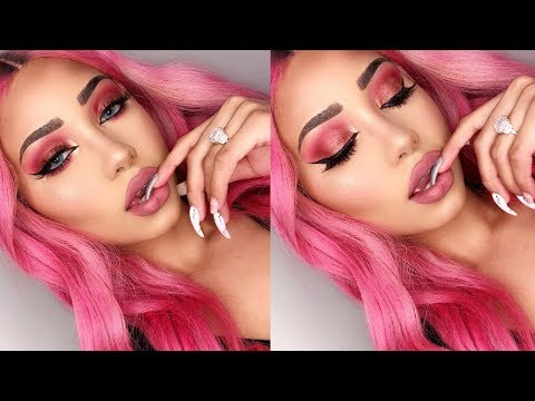 EASY & AFFORDABLE VALENTINE'S DAY MAKEUP TUTORIAL | Melly Sanchez