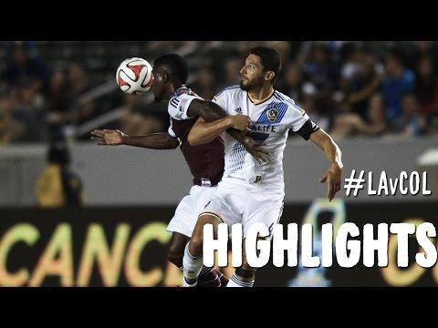 HIGHLIGHTS: LA Galaxy vs Colorado Rapids | September 5, 2014