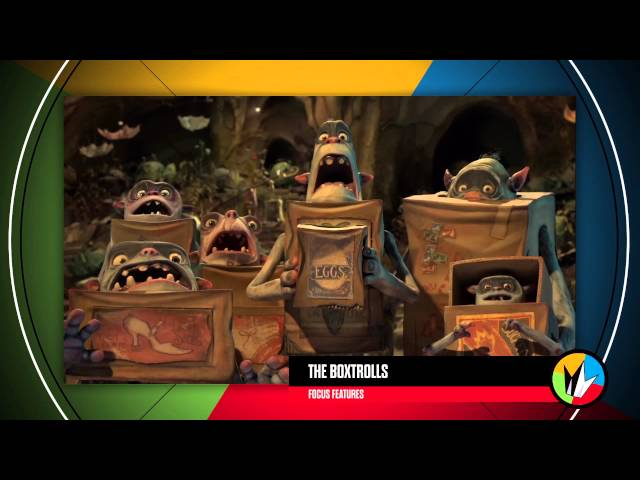 "The Boxtrolls Trailer Is ""Eggcelent"" on The Trailer -- Regal Cinemas [HD]"