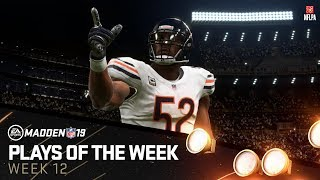 Madden 19 - Plays of the Week 12