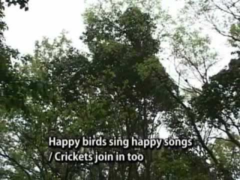 Biodiversity song from Higashiyama Zoo and Botanical Gardens, Nagoya, Japan
