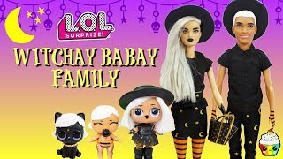 Witchay Babay Family DIY Custom Fun Craft With Barbie and Ken Pikmi Flips Fiesta Series