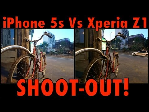 iPhone 5s vs Xperia Z1 - SHOOTOUT - Which is Best? - Stills