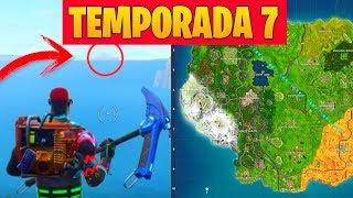 **TEMPORADA 7** VENDRÁ UN HURACÁN Y DESTROZARÁ EL MAPA DE FORTNITE
