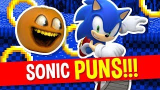 Annoying Orange - Sonic the Hedgehog Puns!