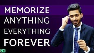 MEMORIZE ANYTHING EVERYTHING FOREVER by Abhishek Kumar