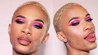 SULTRY VALENTINES DAY MAKEUP TUTORIAL | Alfred Lewis lll