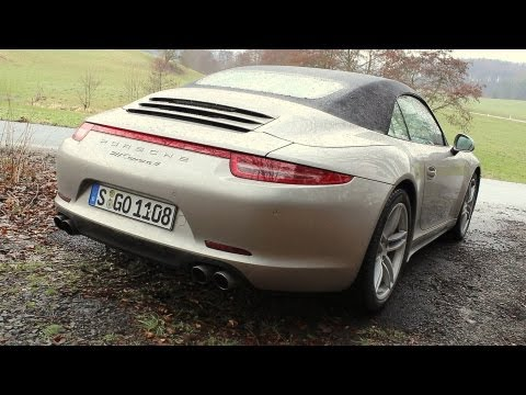 ' 2013 Porsche 911 (991) Carrera 4/4S ( Manual ) ' Test Drive & Review - TheGetawayer