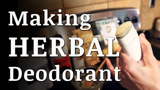 No Baking Soda HERBAL DEODORANT Stick