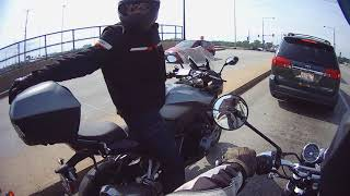 Royal Enfield Interceptor 650 test ride in Chicago