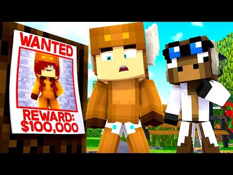 Minecraft Daycare - CRIMINAL BABY ON THE LOSE! w/ MooseCraft (Minecraft Kids Roleplay)