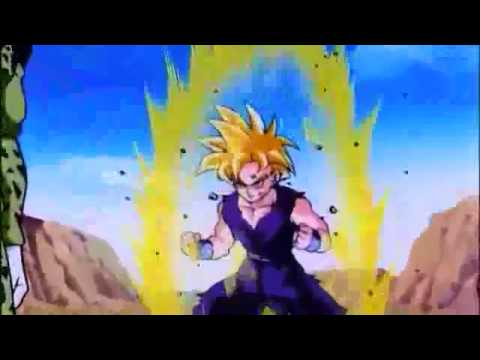 Dbz-gohan Turns Ss2 Vs Cell.flv video
