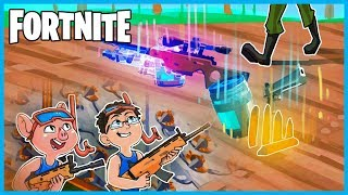HILARIOUS SNORKEL FALSE FLOOR TRAP in Fortnite: Battle Royale! (Fortnite Funny Moments & Fails)