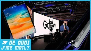 DQJMM : Samsung a corrigé les défauts du Galaxy Fold (1/2)