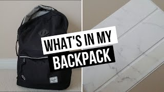 What's In My Backpack 2018 | University / College Student
