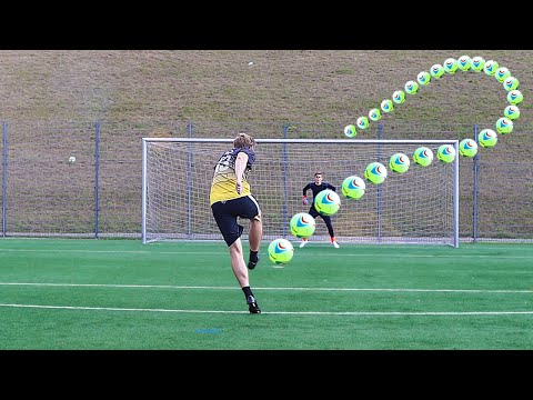 Insane Helium Football Free Kicks & Saves