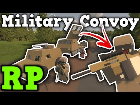 Military Convoy RP - Under fire ! - Unturned 3.0 thumbnail