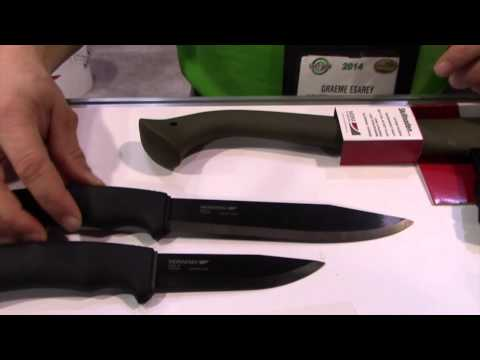 Mora Knives New Pathfinder and other Mora Tools - SHOT Show...