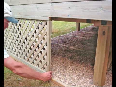 How To Build A Deck Part 09 Finishing Touches How To
