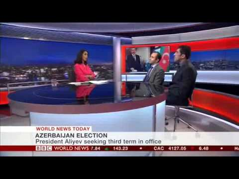 AppGate in Azerbaijan. BBC World News