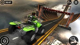 Racing Quad Bike Moto Stunts : ATV Impossible Track #Bike Games Download #Video Games For Children