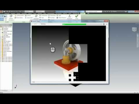 Rendering Images in Inventor Creating Rendered Images on