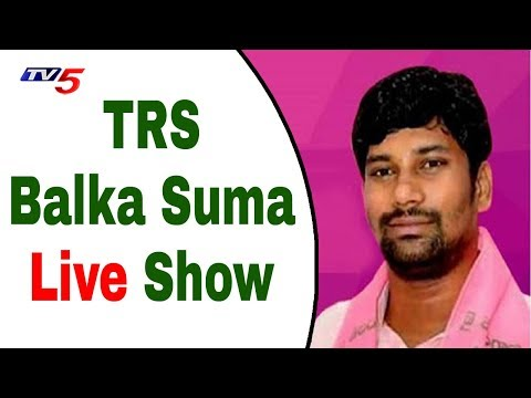 TRS leader Balka Suman Live Show | IT Raids On Revanth Reddy | TV5 News