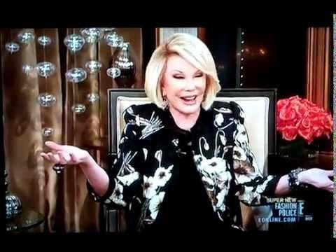 Joan Rivers: Snooki pussy jokes on Fashion Police (Snooki)