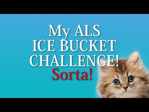 My ALS ICE BUCKET CHALLENGE!.... Sorta