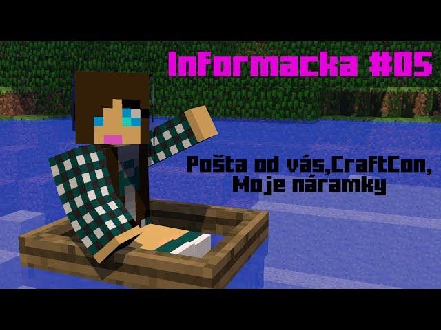 Informačka #05 Pošta od vás,CraftCon,Moje náramky
