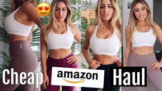 TRYING CHEAP AMAZON ACTIVEWEAR  HAUL