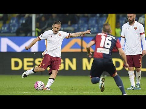 Il gol di Francesco Totti in tutte le lingue del mondo (Genoa - Roma 2-3)