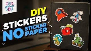 How to make Stickers without Sticker Paper