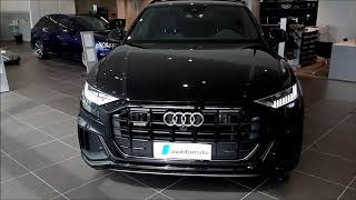 The beast - Orcha Black  New Audi Q8  with S -line and 22 inch wheels etc (walkaround