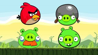 Angry Birds Online Flash Game - Special Cannon Levels 1-18 - Rovio Games