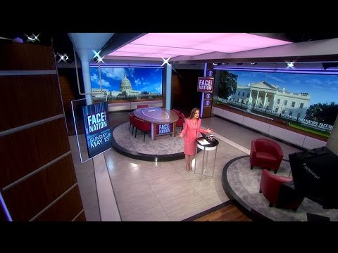 "A look at the new ""Face the Nation"" studio"