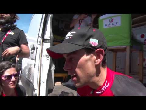 Richie Porte - post-race interview - 8th stage - Critérium du Dauphiné 2017