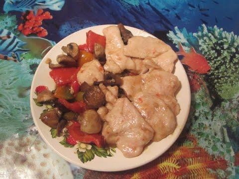Как приготовить курицу с овощами в соусе терияки