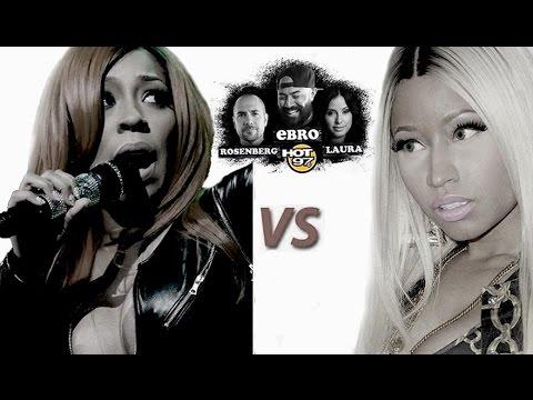 "Rosenberg Predicts A Big ""ass"" Battle Bt  Nicki Minaj & K. Michelle video"