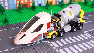Lego wrong heads matching Trucks for kids