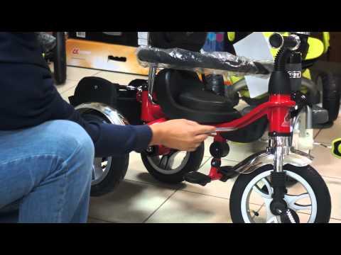 Как выбрать трехколёсный велосипед