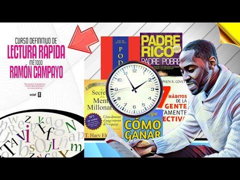Curso definitivo de lectura rápida - método Ramón Campayo - Resumen Animado [SoloParaInteligentes]