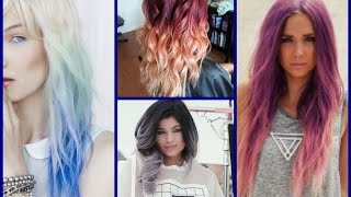 Hair Color Trends - Ombre Colour Hair
