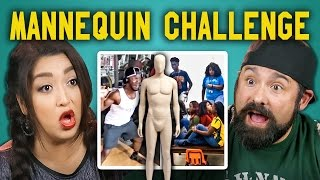 ADULTS REACT TO MANNEQUIN CHALLENGE COMPILATION #mannequinchallenge