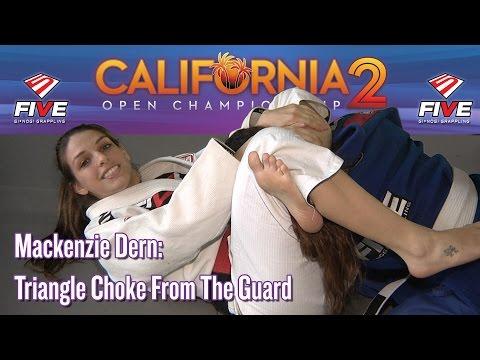 Mackenzie Dern Accent Video Mackenzie Dern's