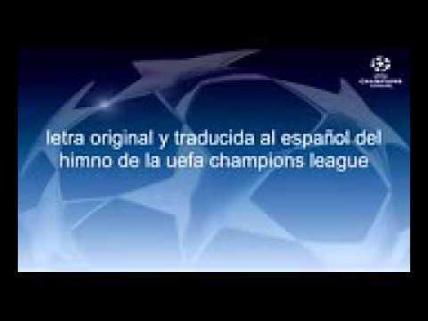 Cool mesalio chido (Himno nacional de la uefa champions league