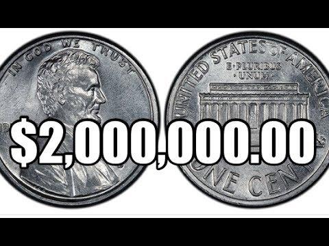 rare & valuable $2,000,000 1974 d aluminum lincoln cents