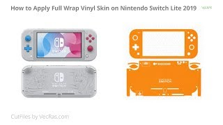 Nintendo Switch Lite Vinyl Skin Application Tutorial | VecRas