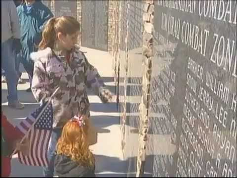 Ceremony held at new Veterans Memorial Park in Sequatchie County.mp4
