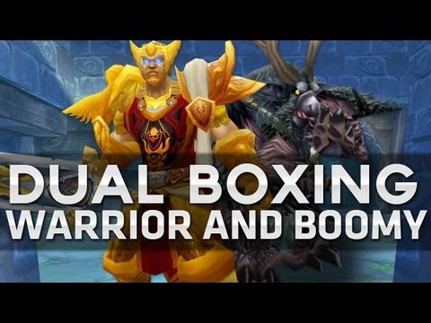 Swifty Dualboxing Warrior / Druid - MOP(Gameplay/commentary)
